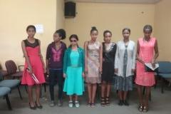 Addis Ababa university female  visually impaired students , job readiness training particioants